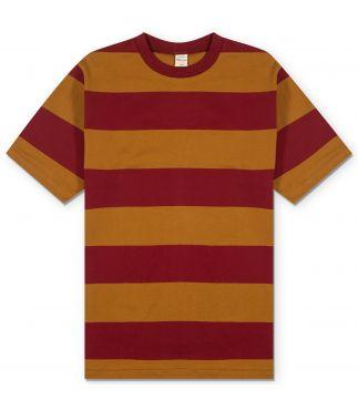 Футболка 3inch Mustard/Bordeaux Stripe