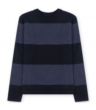 Джемпер Striped Crew Dark Navy/Centennial Blue