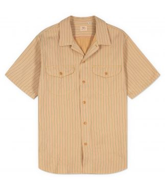 Рубашка Short Sleeve Work Beige