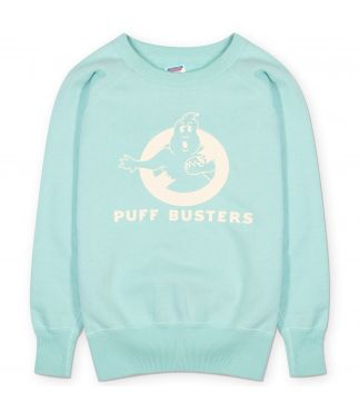 Толстовка Puff Busters Mint Blue
