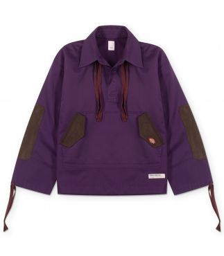 Куртка Suede Patch Pull Over Purple