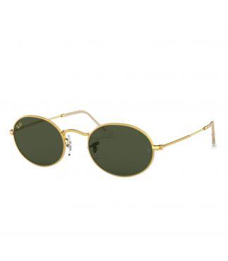 Очки солнцезащитные Legend Gold Oval G-15