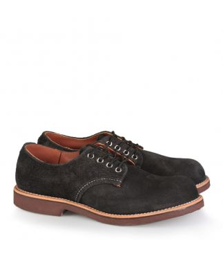 Ботинки 8055 Foreman Oxford Black Abilene