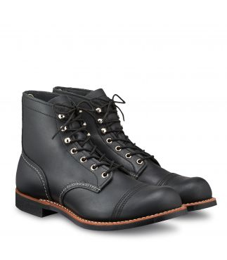 "Ботинки 8084 6"" Iron Ranger Black Harness"
