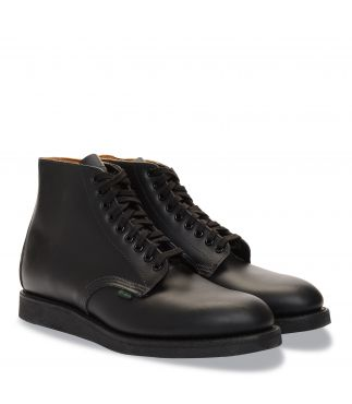 "Ботинки 9197 6"" Postman Boot Black Chaparral"
