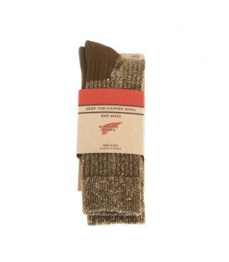 Носки Deep Toe Capped Wool Olive
